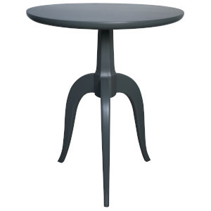 Corin Mink Grey 24-Inch Side Table