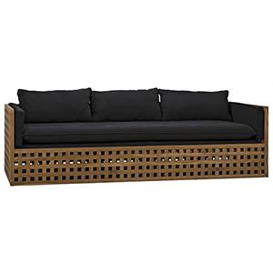 Quinnton Teak Sofa