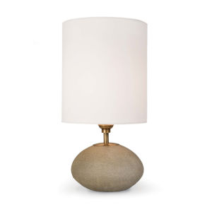 Concrete Natural One-Light Table Lamp