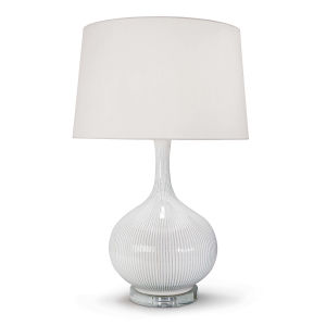 Ivory One-Light Table Lamp