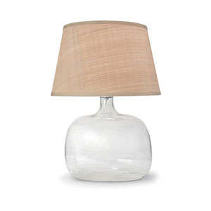 East End Clear 22-Inch One-Light Table Lamp