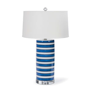 East End Blue 28-Inch One-Light Table Lamp