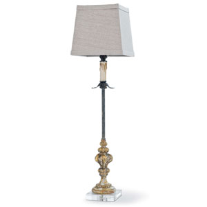 New South Gold 33-Inch One-Light Table Lamp