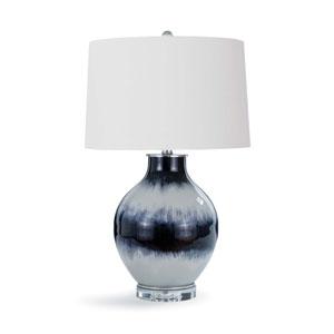 LA Modern Glass One-Light Table Lamp