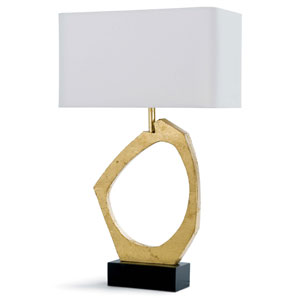 Classics Gold Leaf 30-Inch One-Light Table Lamp