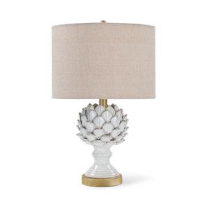 Classics White Ceramic One-Light Table Lamp