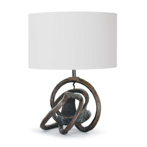 Knot Bronze One-Light Table Lamp