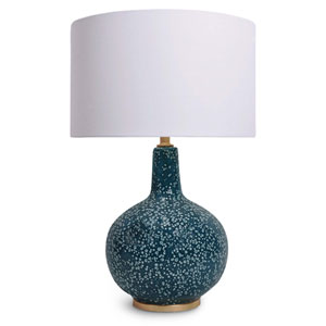 East End Blue 27-Inch One-Light Table Lamp