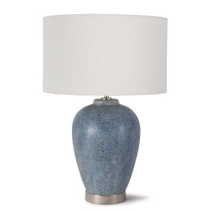 Presley Indigo One-Light Table Lamp