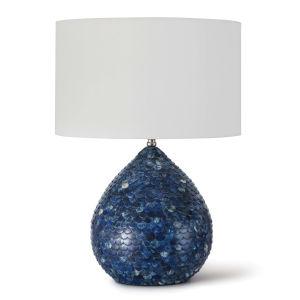 Sirene Blue One-Light Table Lamp