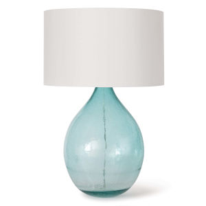 Catalina Blue Two-Light Table Lamp