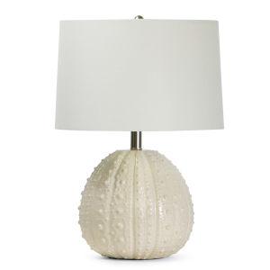 Sanibel White One-Light Table Lamp