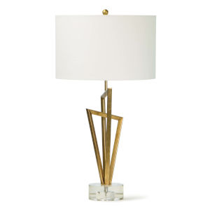 Sydney Gold Leaf One-Light Table Lamp