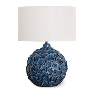 Lucia Blue One-Light Table Lamp