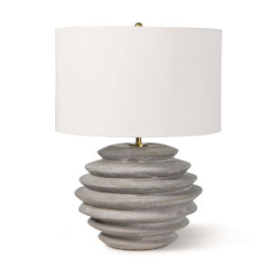 Canyon Grey One-Light Table Lamp