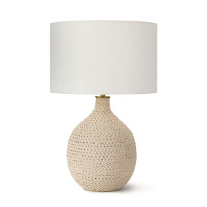 Biscayne Natural One-Light Table Lamp