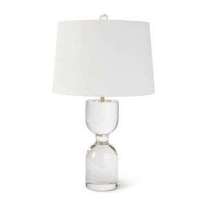 Joan Transparent One-Light 15-Inch Table Lamp