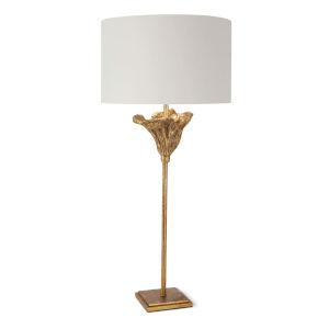 Monet Antique Gold Leaf One-Light Table Lamp