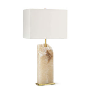 Selina Natural Stone One-Light Table Lamp