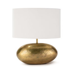 Joule Natural Brass One-Light Table Lamp