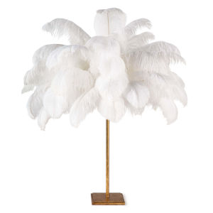 Josehine Gold Leaf One-Light Table Lamp