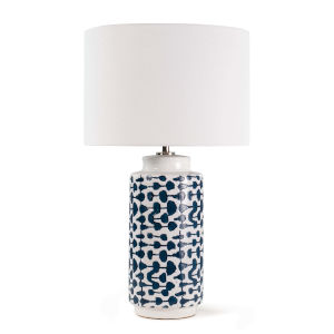 Cailee Indigo One-Light Table Lamp