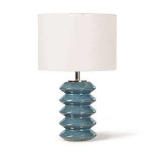 Teton Blue One-Light Table Lamp