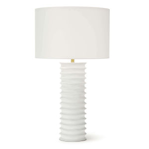 Nabu White One-Light Table Lamp