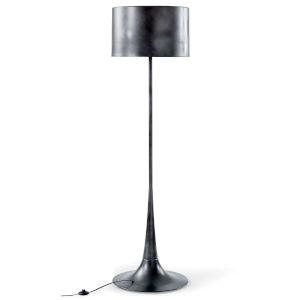 Trilogy Black One-Light Floor Lamp