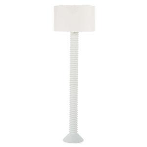 Nabu White One-Light Floor Lamp