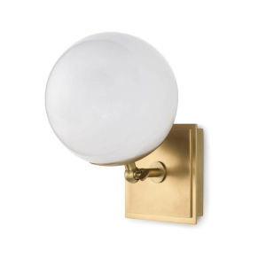 Bodie Natural Brass One-Light Wall Sconce