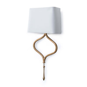 Classics Duchess Gold Leaf 12-Inch One-Light Wall Sconce