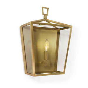 Classics Natural Brass 11-Inch One-Light Wall Sconce