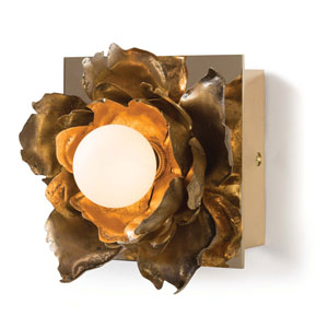 Classics Gold Six-Inch One-Light Wall Sconce