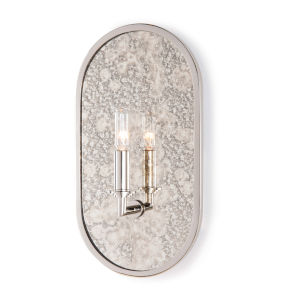 Boston Polished Nickel One-Light Wall Sconce