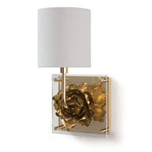 Classics Gold Eight-Inch One-Light Wall Sconce