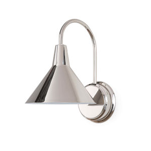 Dublin Polished Nickel One-Light Wall Sconce