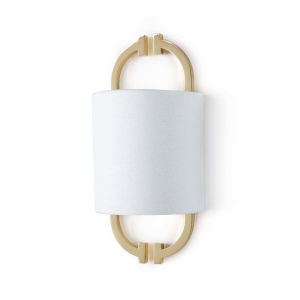 Tiffany Gold One-Light Wall Sconce