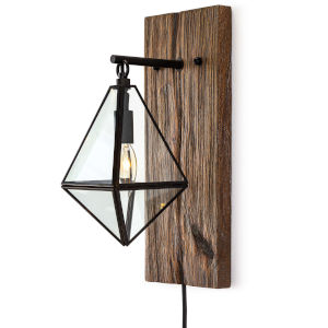 Terra Brown One-Light Wall Sconce