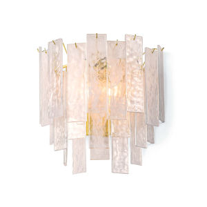 Glacier Clear Three-Light Wall Sconce