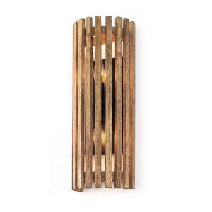 Orchard Brown Two-Light Wall Sconce