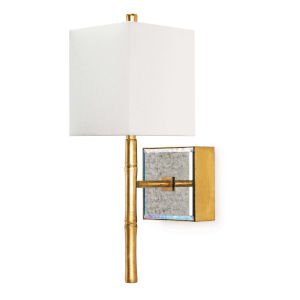 Sarina Gold Leaf One-Light Wall Sconce