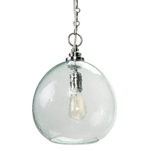 East End Brushed Nickel One-Light Pendant