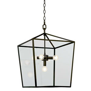 Classics Oil Rubbed Bronze Five-Light Pendant