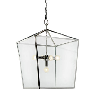 Classics Polished Nickel Five-Light Pendant