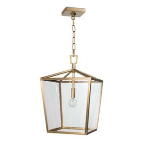 Classics Natural Brass One-Light Pendant