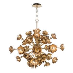 Adeline Gold 22-Light Chandelier
