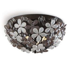 Cheshire Oil Rubbed Bronze Two-Light Flush Mount