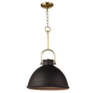 Eloise Black One-Light Pendant