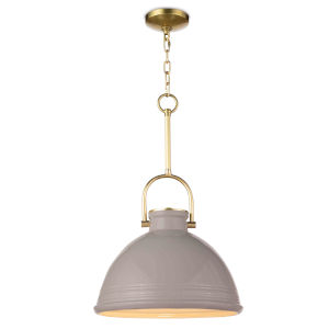 Eloise Gray One-Light Pendant
